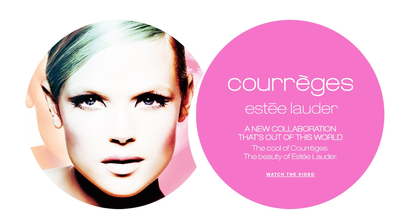 Fashion style Lauder estee courreges spring makeup collection for woman